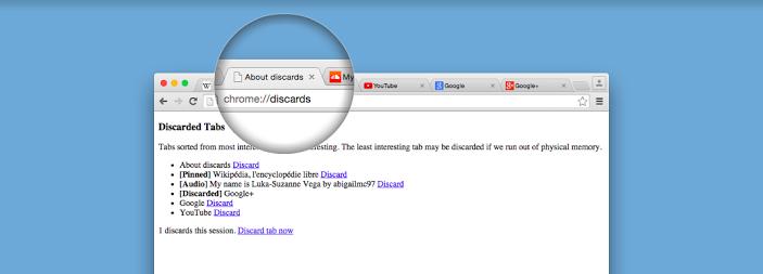 Google chrome เปิดตัวฟังก์ชั่น auto-discards tab