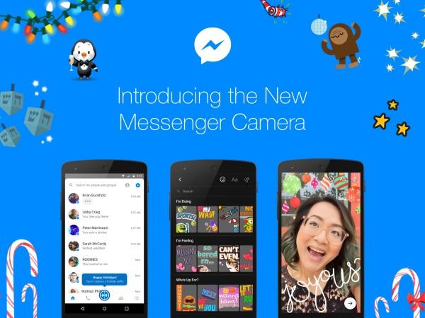 Facebook Messenger อัพเดทใหม่ เพิ่มกล้องพร้อมฟีเจอร์เพียบ