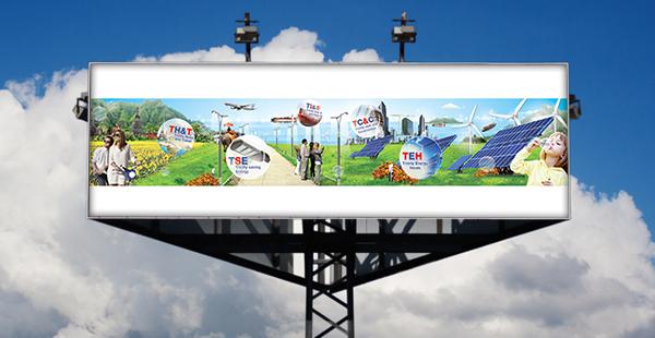 บริการออกแบบ ป้ายไวนิลโฆษณา บิลบอร์ด